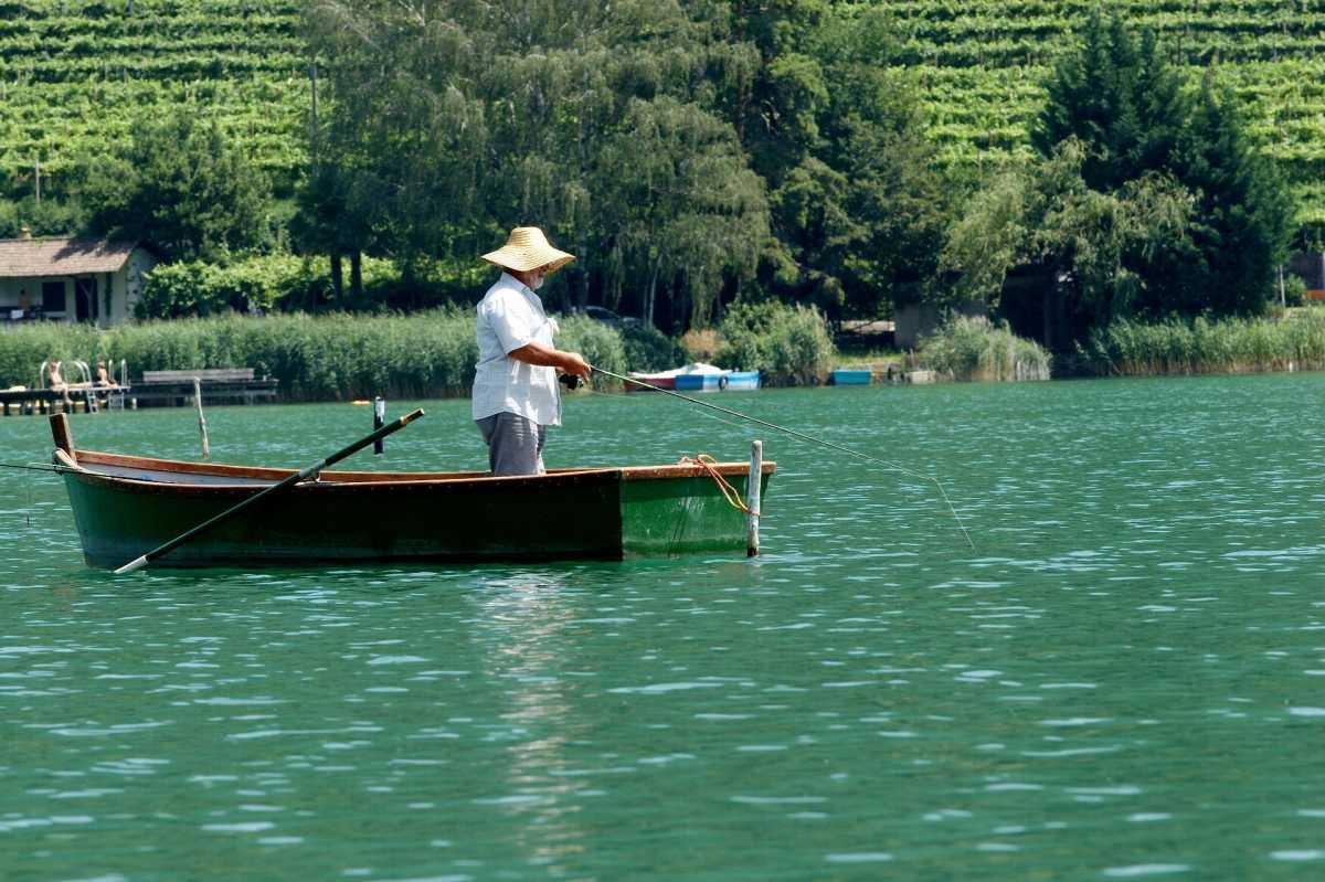 Trento - Die Villa Clavenz am Kalterer See.