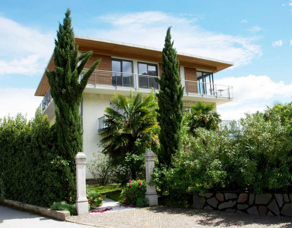 Die Villa Clavenz am Kalterer See