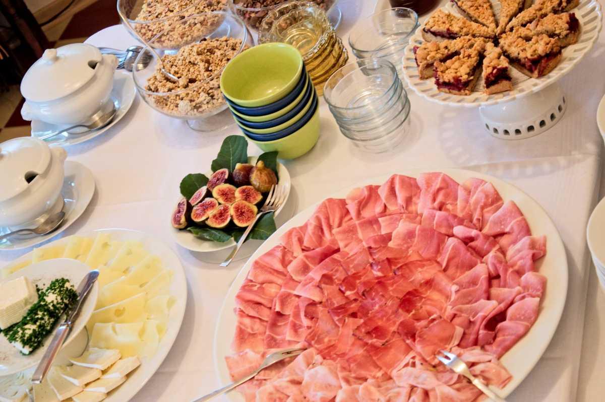 Das Genißer-Frühstück der Villa Clavenz lässt keine Wünsche offen!